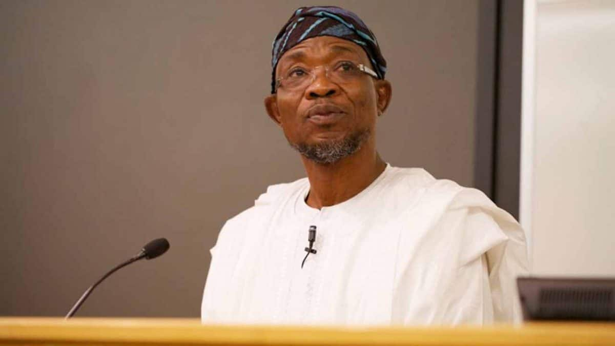 Aregbesola allegedly received 96-month salary arrears in secret, claims he did not
