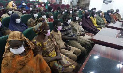 Niger Gov, Abubakar Bello receives 53 kidnapped passengers