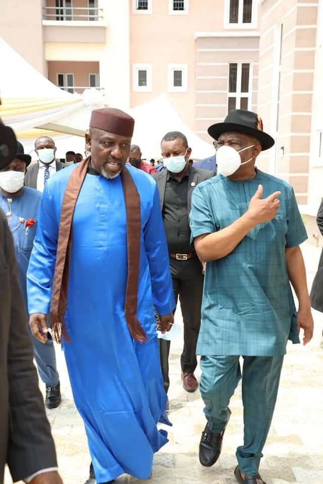 2023 Okorocha visits Wike twice in one month