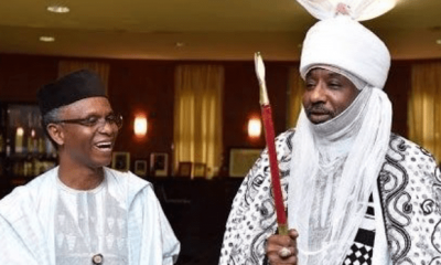 Governor Nasir El-Rufai has appointed former Emir of Kano Emirates, Mohammed Sanusi, as Vice Chairman of the Kaduna Investment Promotion Agency (KADIPA). El-Rufai also charged the agency to redouble its efforts in making the State the topmost investment destination in Nigeria, by improving its Ease of Doing Business ranking. El-Rufai, who spoke at the formal inauguration of the board of the agency, formally welcomed Sanusi II to the board. He also thanked the former Central Bank of Nigeria, CBN, Governor, for accepting to serve the people of Kaduna state. El-Rufai said that the agency has been a very important and successful vehicle in the investment drive of Kaduna, and has extracted over$2.1 billion in actual and pledged investments since 2015. El Rufai further noted that KADIPA will be competing not just with other states in Nigeria for investments but with all emerging markets. Sanusi II, during the occasion expressed delight at attending its first meeting since he was made a member and promised to contribute his best to uplifting KADIPA.