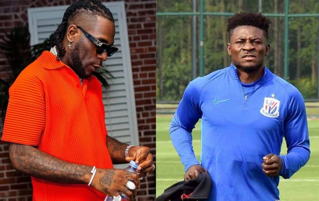 Obafemi Martins confirms rift with Burna Boy