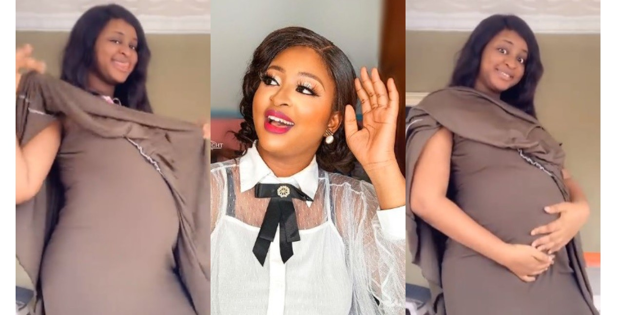 actress-etinosa-shows-off-her-baby-bump-as-she-jams-to-davidos-holy-ground