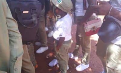 Photo Of The Most Tallest Corper Has Surfaces Online(SEE MIXED REACTIONS) 2