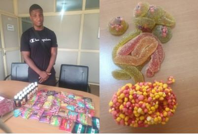 22 Year Old NYSC Corps Member Has Been Arrested Importing Drugged Candies -  NDLEA (SEE PHOTOS)   Press Informant, Nigeria News Paper