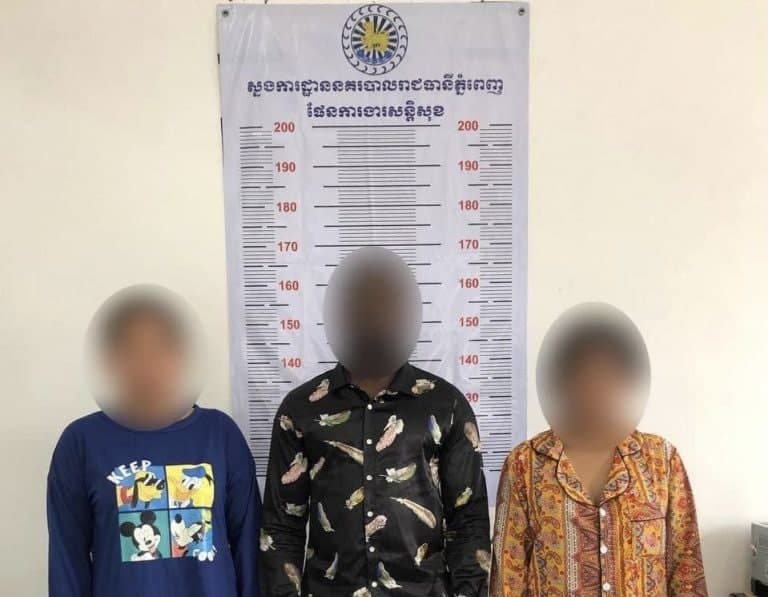 A Nigerian Man And Two Cambodians Women Detained For Fraud