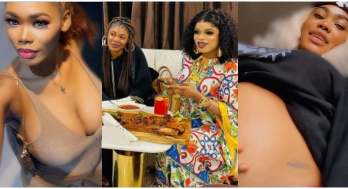Bobrisky former PA finally reveals the father of her unborn baby