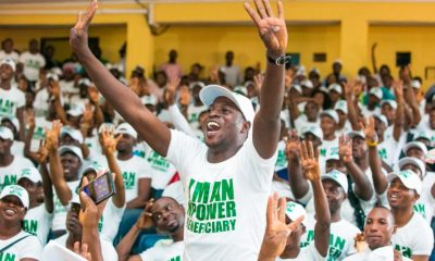 Disengaged N-Power Beneficiaries Demand Sack Of Buhari's Minister, Farouk, For Withholding Five Months' Allowances Of 14,000 Nigerian Volunteers