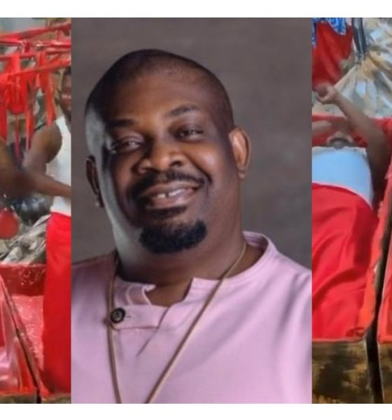 Don Jazzy Reacts To Video Of Men Doing Sacrifice And Jumping On Ayra Starr Song