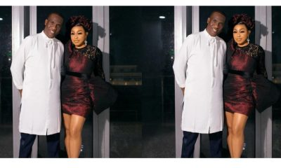 Lovely photo of actress Rita Dominic and her man Fidelis Anosike