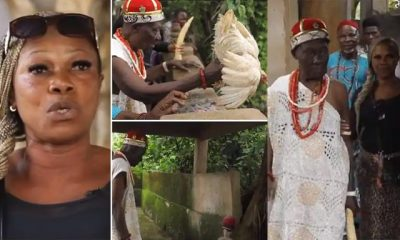 Prayer warrior who dumped Christianity to marry a native doctor