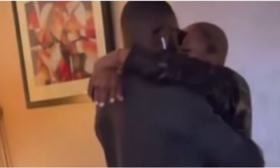 Tega Kisses Husband As They Reunite After Her Eviction