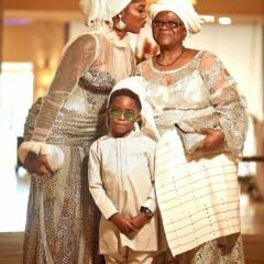 Tiwa Savage Dazzled In Silver Outfit For Late Father's Service Of Song (SEE PHOTOS)1