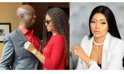 Regina Daniels shares chat between her and her husband